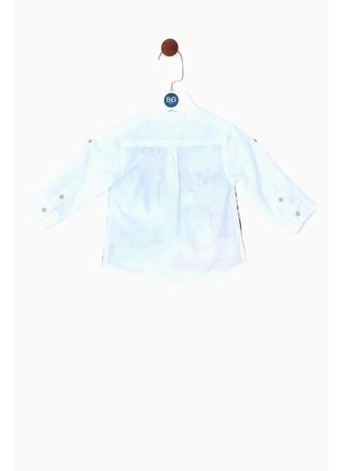 BG Baby Erkek Bebek Desenli Gömlek 19SS0BG1602 Renkli